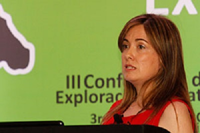 Paola-Rojas Speaking at Latin Exploration 2011