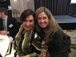 ALABC Dinner Gabriela Michetti and Paola Rojas