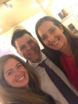With Diego Temperley & Romina Gambarrutta