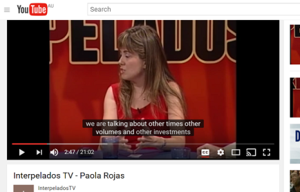 Interpelados TV Show. Channel 9, Salta. 2012