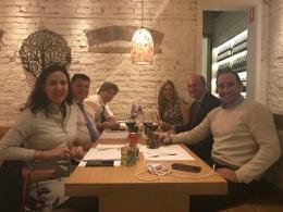 Dinner with Argentina's Ambassador to Australia at IMARC 2017